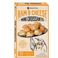 Member's Mark Ham and Cheese Mini Croissants (24.6 oz., 30 ct.)