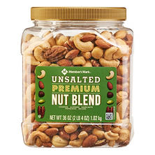 Member's Mark Unsalted Premium Nut Blend (36 oz.)
