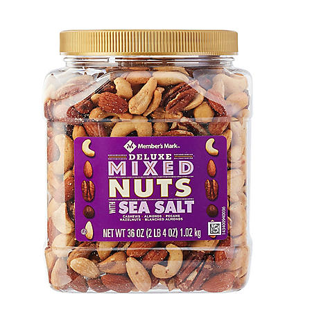 Member's Mark Deluxe Mixed Nuts with Sea Salt (36 oz.)
