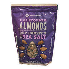 Member's Mark Dry Roasted Almonds with Sea Salt (40 oz.)