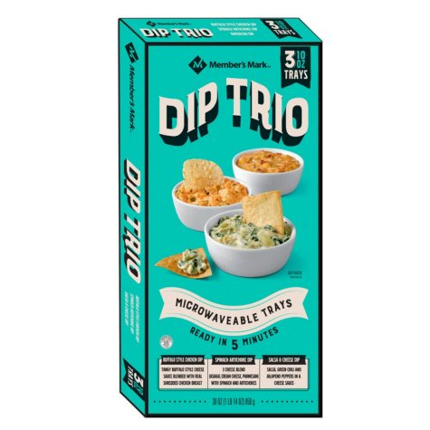 Member's Mark Dip Trio (30 oz., 3 pk.)