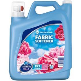 Member's Mark Liquid Fabric Softener, Spring Flowers Scent (170 oz., 197 loads)