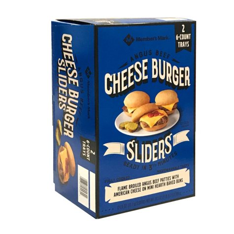 Member's Mark Angus Cheeseburger Sliders (12 ct.)