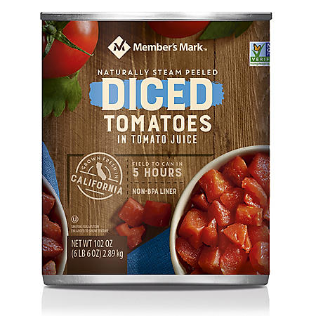 Member's Mark Diced Tomatoes In Tomato Juice (102 oz.)