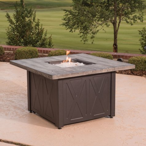 "Member's Mark 42"" Square Outdoor LPG Fire Table"