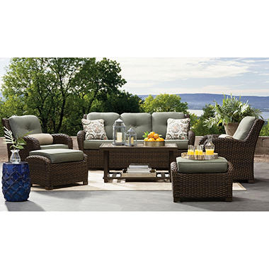 Member\'s Mark Agio Chelsea Sunbrella Seating Set (Sage) - Sam\'s Club