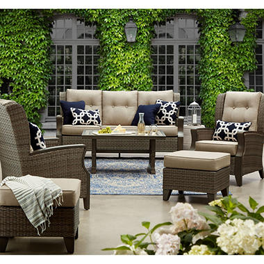 Member S Mark Agio Newcastle Sunbrella Seating Set