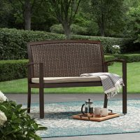 Deals on Member's Mark Agio Woven Bench