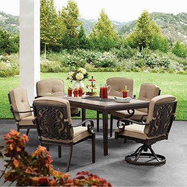 Member S Mark Santa Rosa 7 Piece Dining Set Sam S Club