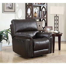 Member's Mark Buchanan Top-Grain Leather Recliner