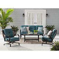 Members Mark Harbor Hill Sunbrella Seating Set w/3-Cushion Deals