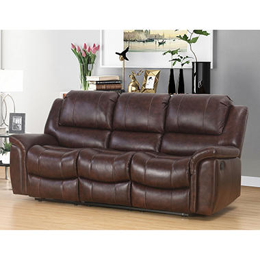Member S Mark Westwood Top Grain Leather Sofa