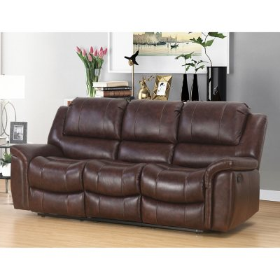 Charmant Memberu0027s Mark Westwood Top Grain Leather Sofa
