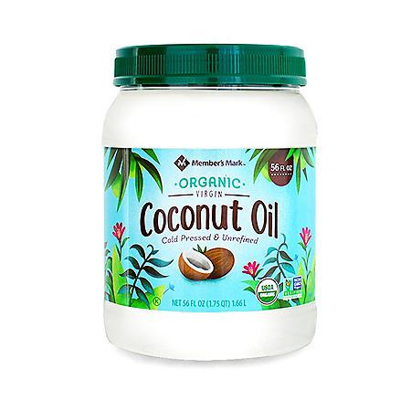 Member's Mark Organic Virgin Coconut Oil (56 oz.)