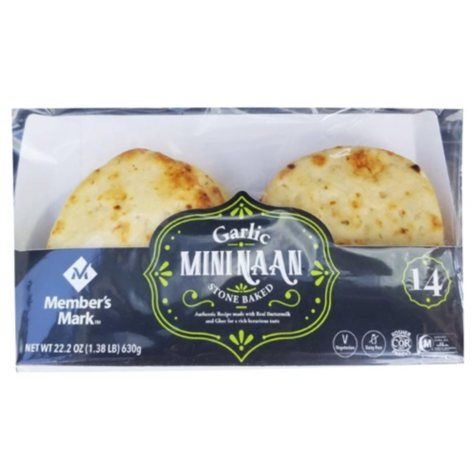 Member's Mark Garlic Mini Naan (22.2 oz.)