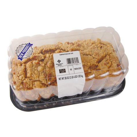 Member's Mark Pumpkin Pecan Loaf Cake (36 oz.)