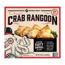 Member's Mark Crab Rangoon (24 oz., 24 ct.)