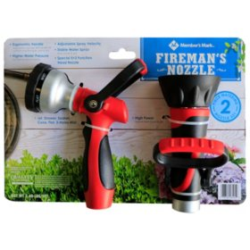 Member's Mark Fireman Hose Nozzle Combo Set