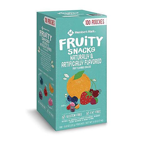 Member's Mark Fruity Snacks (0.8 oz., 100 pk.)