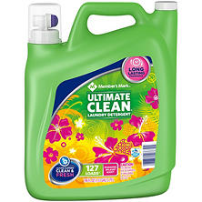 Member's Mark Ultimate Clean Liquid Laundry Detergent, Paradise Splash (196 oz.)