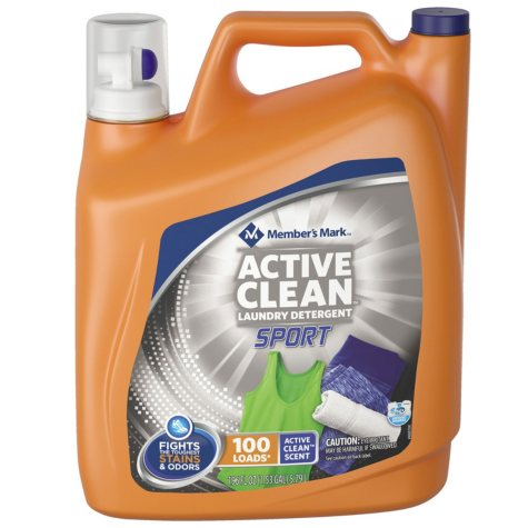 Member's Mark Ultimate Clean Sport Liquid Laundry Detergent (196 oz., 100 loads)