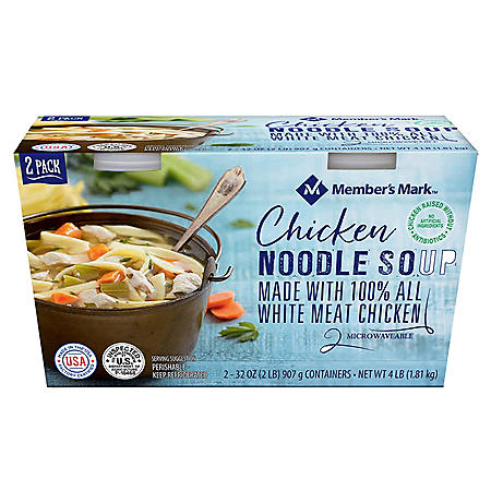 Member's Mark Chicken Noodle Soup (32 oz. ea., 2 pk.)
