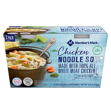 Member's Mark Organic Chicken Noodle Soup (32 oz., 2 pk.)