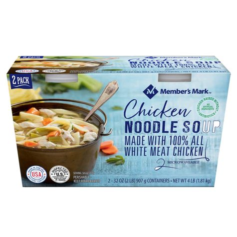 Member's Mark Chicken Noodle Soup (32 oz., 2 pk.)