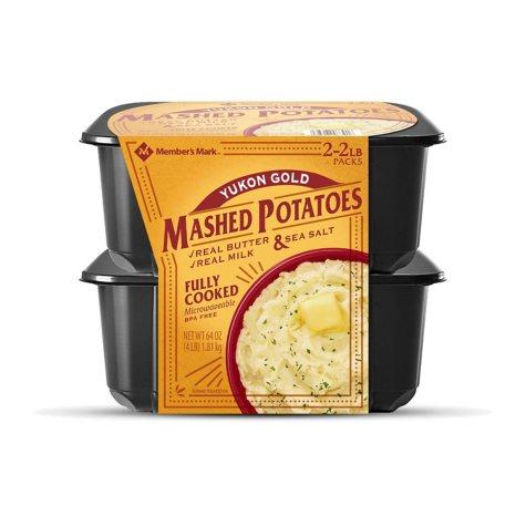 Member's Mark 100% Yukon Gold Mashed Potatoes (4 lbs.)