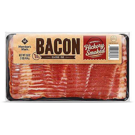 Member's Mark Naturally Hickory Smoked Bacon (3 lbs.)
