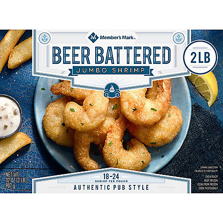 Member's Mark Beer Battered Shrimp (2 lbs.)