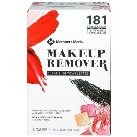 Member's Mark Makeup Remover Cleansing Towelettes (181 ct.)