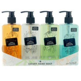 Member's Mark Luxury Hand Soap, Variety Pack (13 fl. oz., 4 pk.)