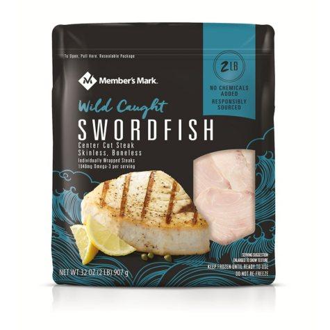 Member's Mark Swordfish Portions, Frozen (2 lbs.)