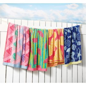 Member's Mark Kids' Beach Towel (Assorted Colors)
