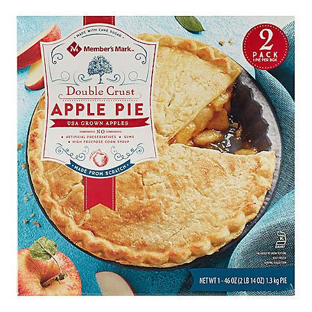 Member's Mark Double Crust Apple Pie (2 pk.)