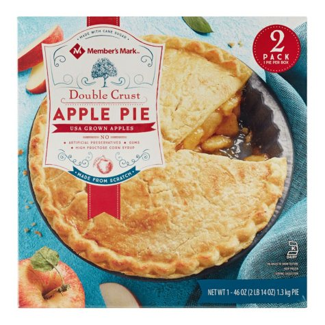 Member's Mark Double Crust Apple Pie (2 pk.)