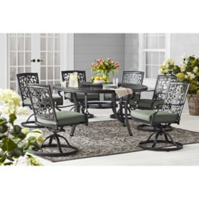 Member's Mark Agio Hastings 8-Piece Dining Set