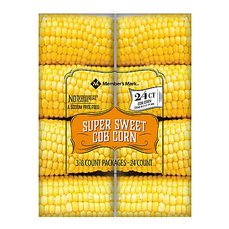 Member's Mark Super Sweet Cob Corn (24 ct.)