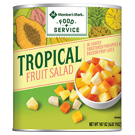 Members Mark Tropical Fruit Salad (107 oz. can)