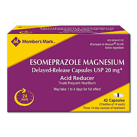 Member's Mark Esomeprazole (42 ct.)