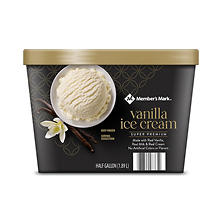 Member's Mark Super Premium Vanilla Ice Cream (64 oz.)