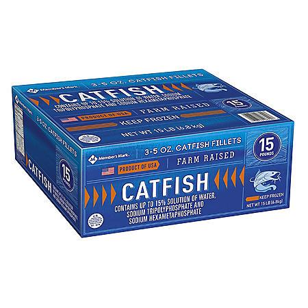 Member's Mark Catfish Fillets, Bulk Wholesale Case (15 lb.)