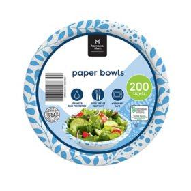 Member's Mark Printed Paper Bowls (12 oz., 200 ct.)