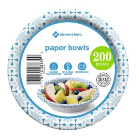 Member's Mark Paper Bowls (12 oz., 200 ct.)