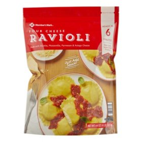 Member's Mark Four Cheese Ravioli by Seviroli (64 oz.)