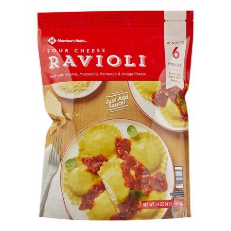 Member's Mark Four Cheese Ravioli by Seviroli (64 oz.)