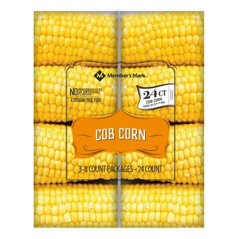 Member's Mark Jubilee Cob Corn (24 count)