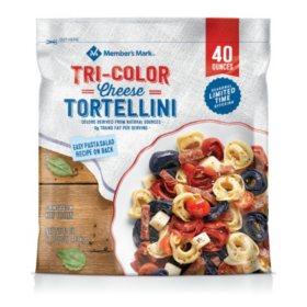 Member's Mark Tri-Color Cheese Tortellini (40 oz.)