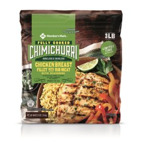 Member's Mark Fully Cooked Chimichurri Chicken Breast Fillets (3 lb.)